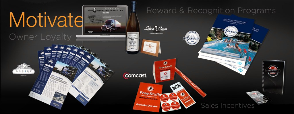 motivate - owner loyalty, reward and recognition programs, sales incentives